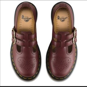 Brown Doc Martens Mary Janes size 8